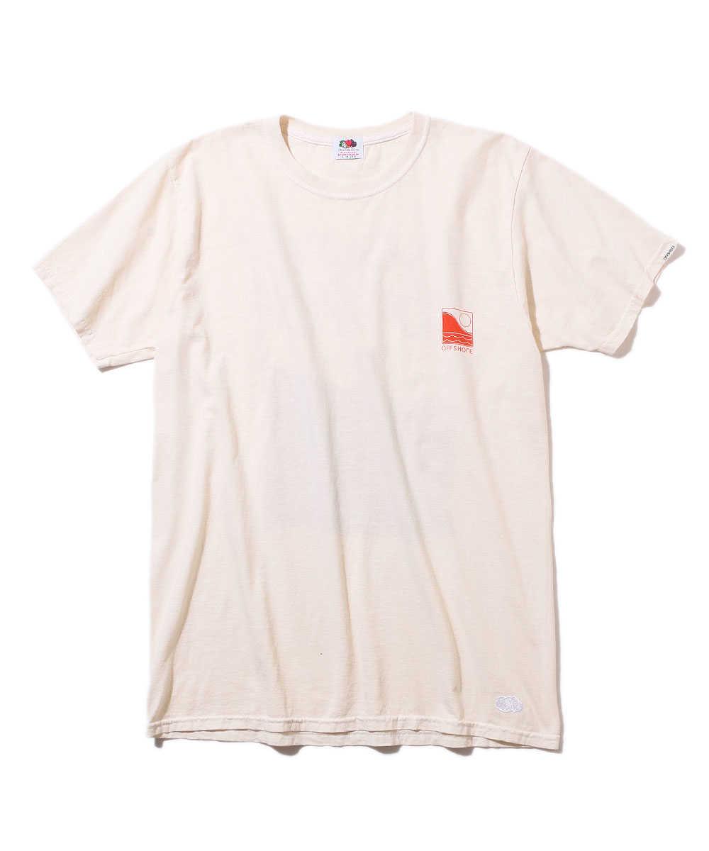 """【別注・先行商品】""""フルーツ オブ ザ ルーム""""クルーネックTシャツ"""