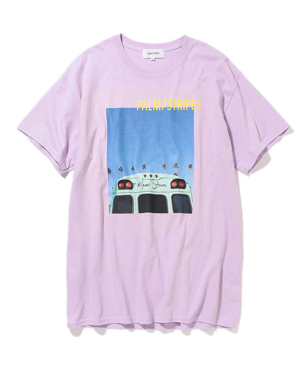 【別注・先行商品】フォトプリントクルーネックTシャツ