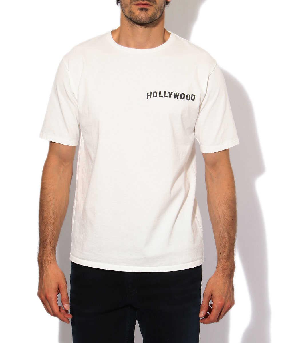 """【別注・限定商品】""""ハリウッド マップ""""クルーネックTシャツ"""