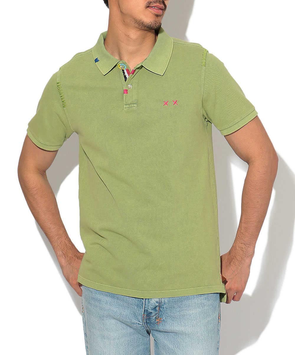 ビーズポロシャツ