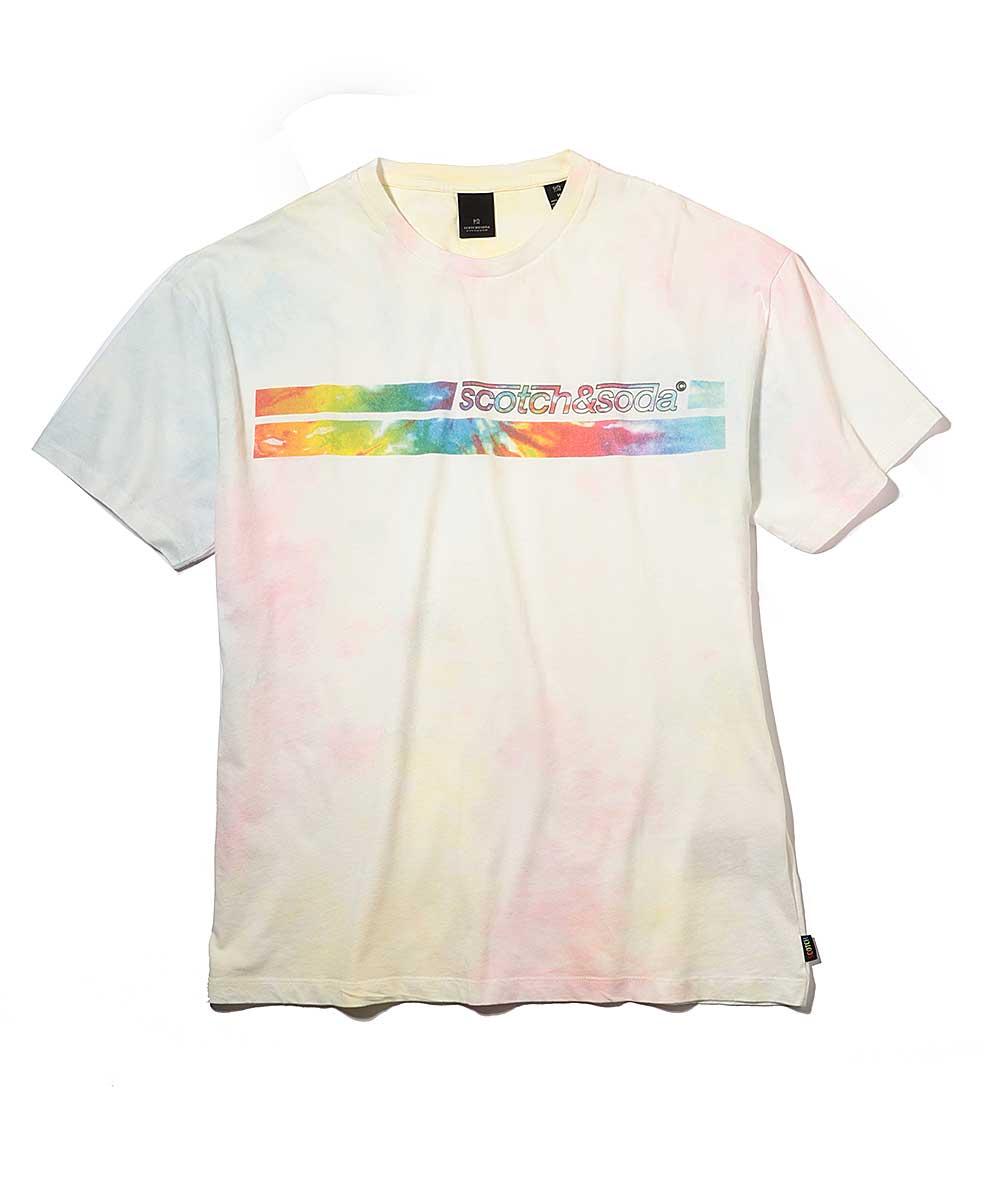 タイダイクルーネックTシャツ