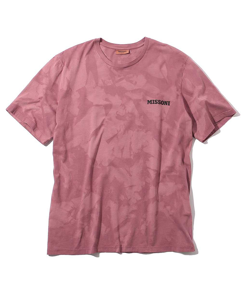 タイダイ柄クルーネックTシャツ