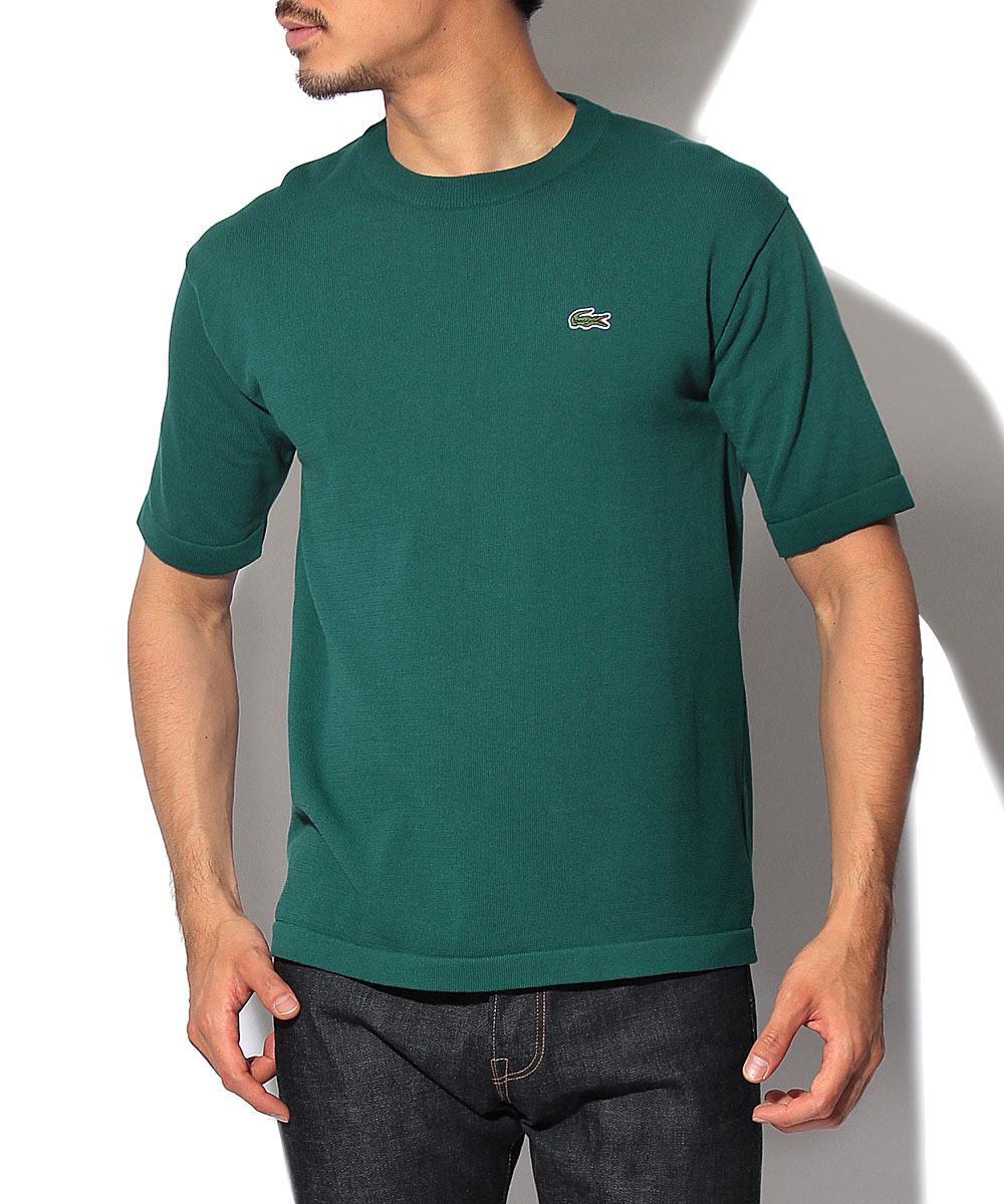 ワンポイントクルーネックTシャツ