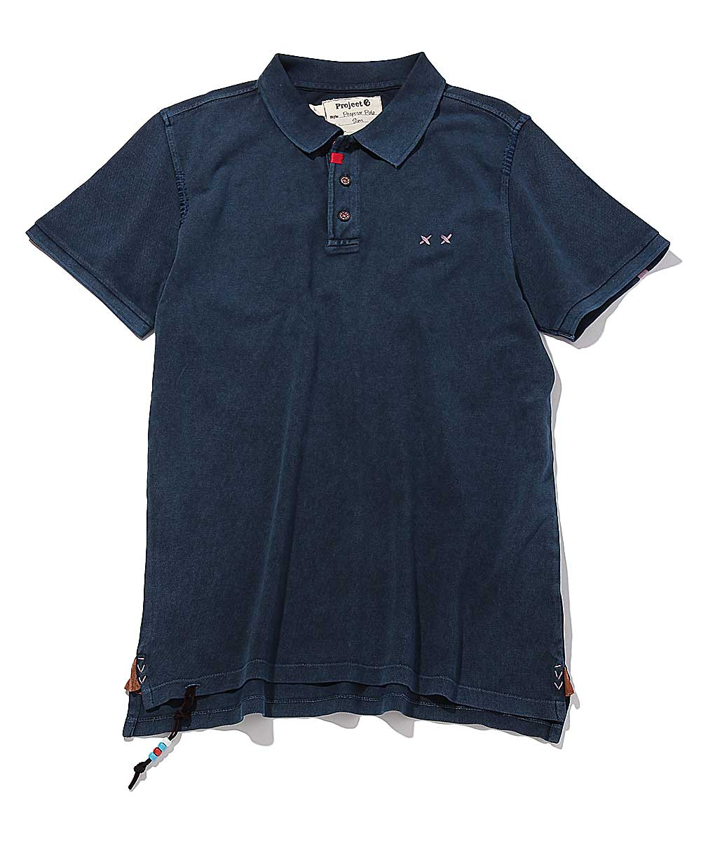 チャーム付きポロシャツ