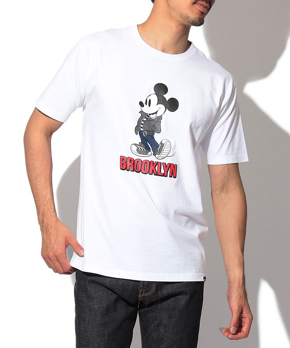 ショット×ディズニー クルーネックTシャツ
