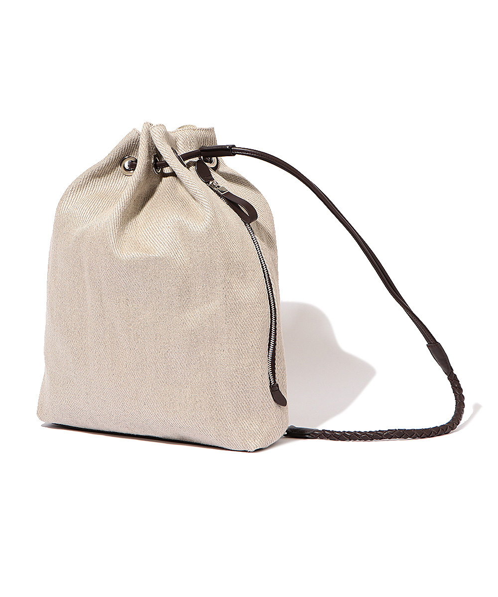 【別注・限定販売商品】リネンショルダーバッグ