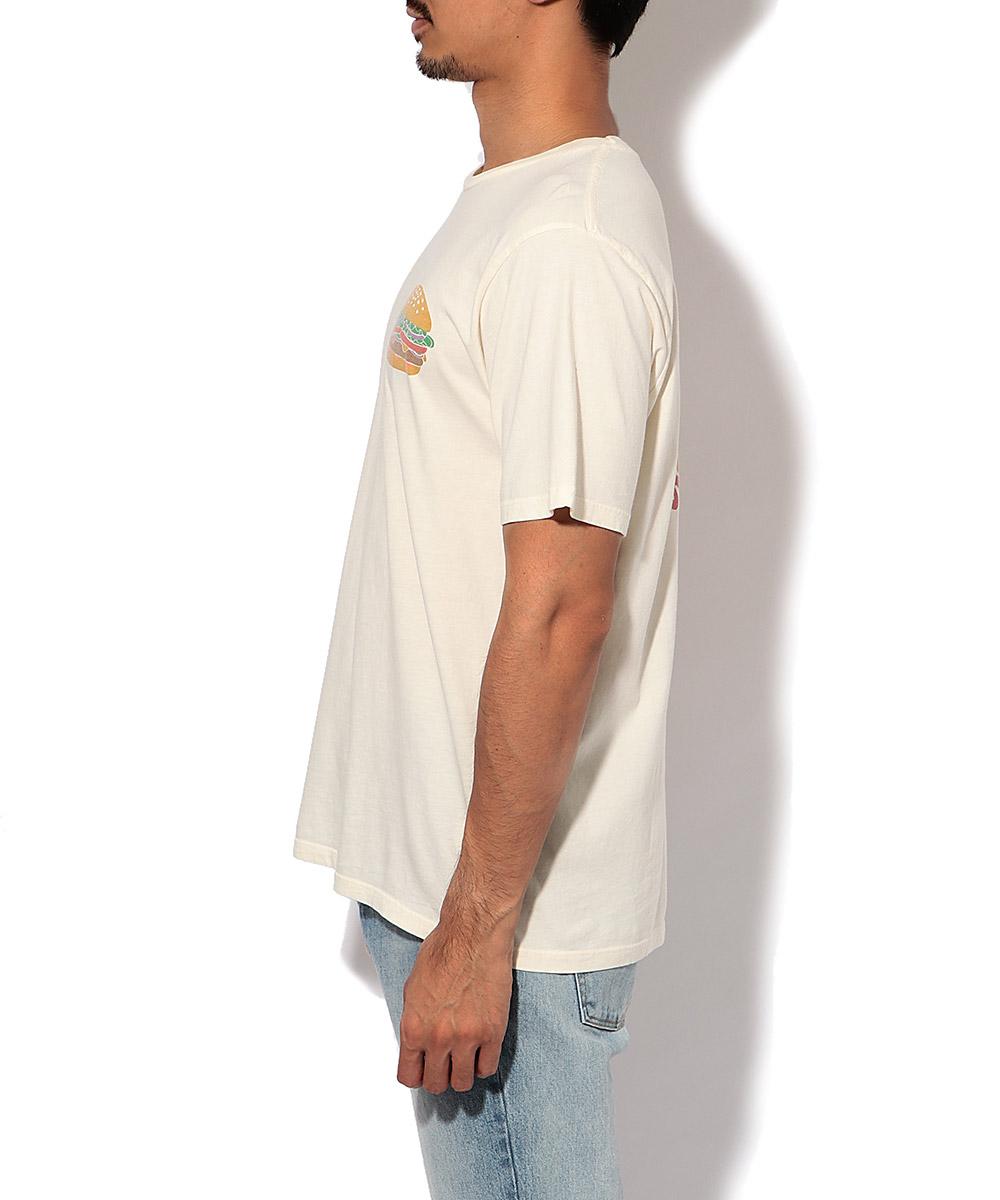 プリントクルーネックTシャツ