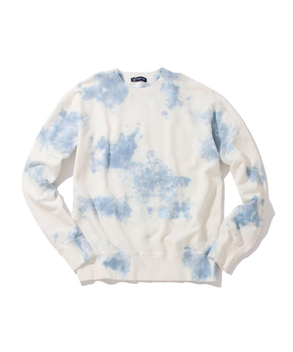 【限定商品】タイダイ染めスウェットシャツ