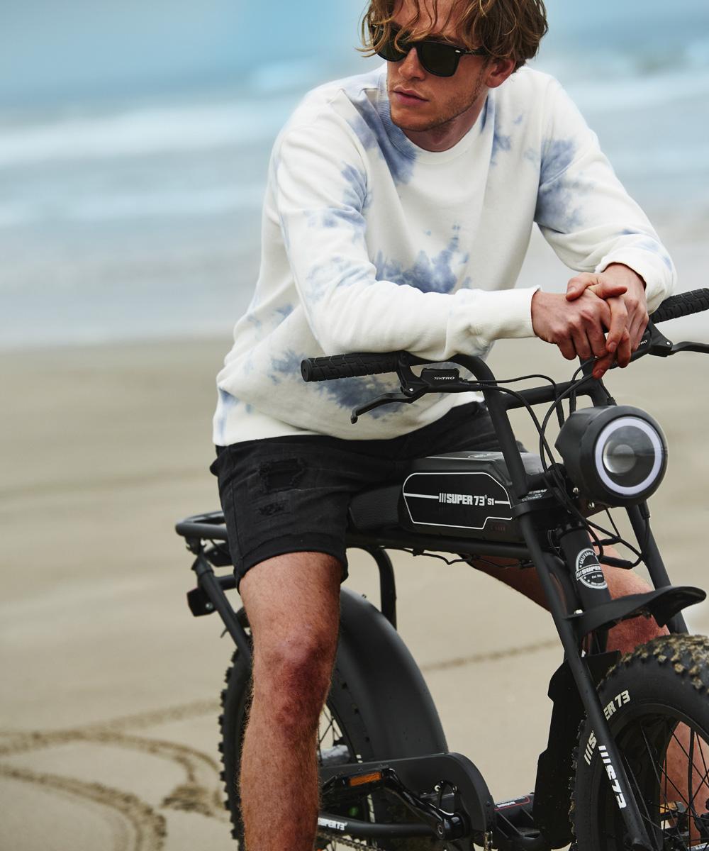 【メーカー直送】電動アシスト自転車 スーパー73 SG1