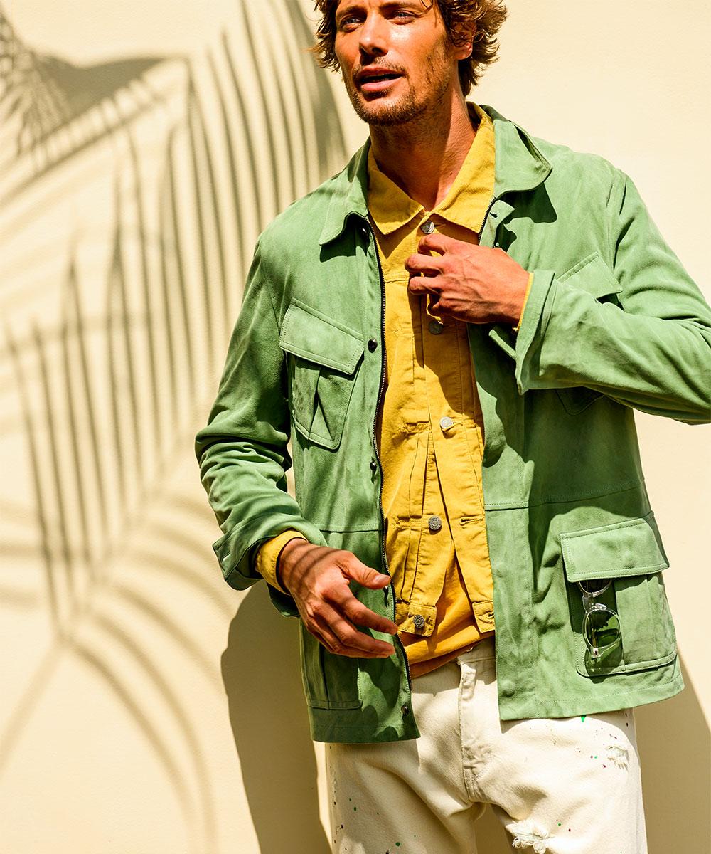 【別注・限定商品】スウェードファティーグジャケット