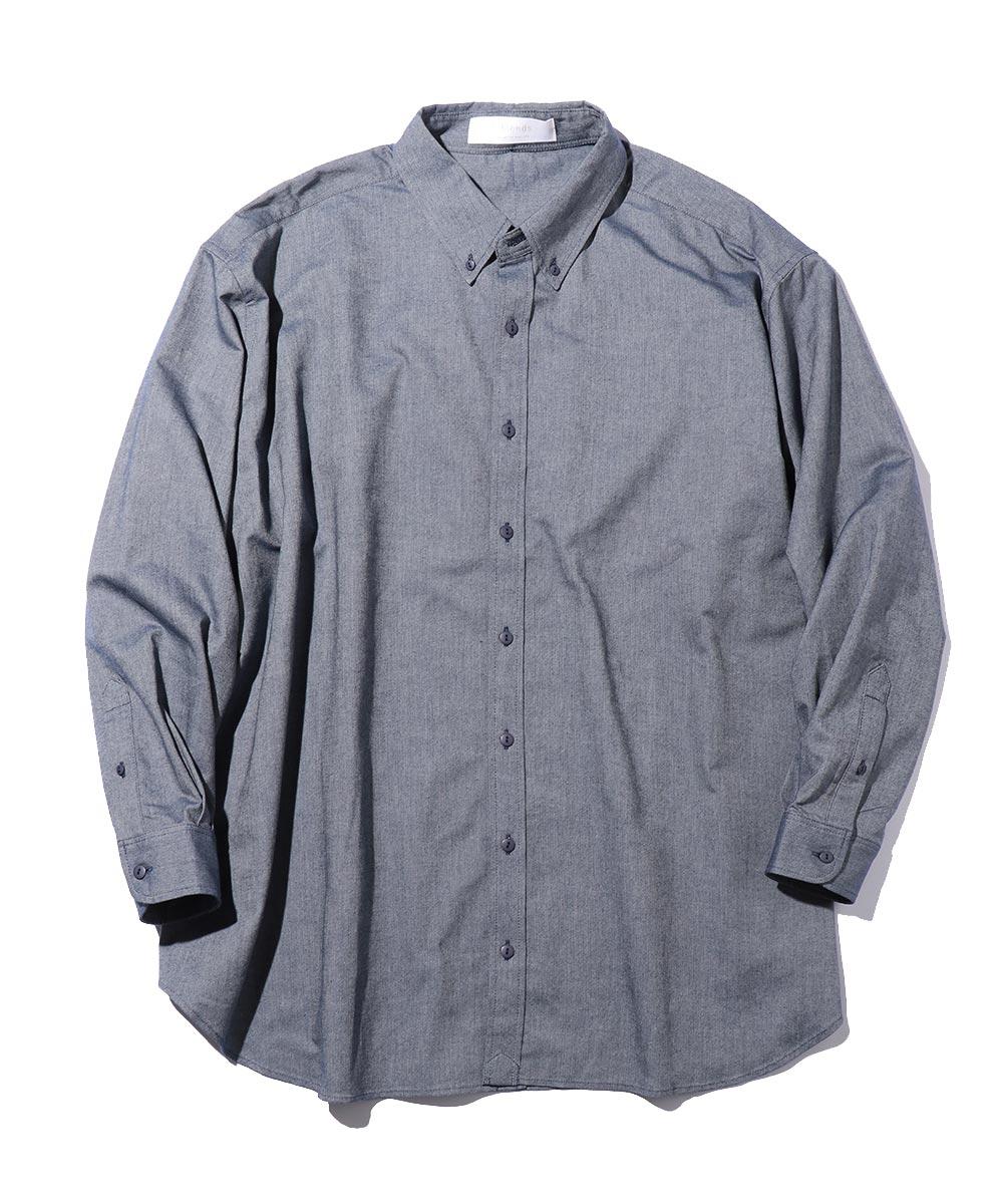 ビッグシルエットオックスフォードシャツ