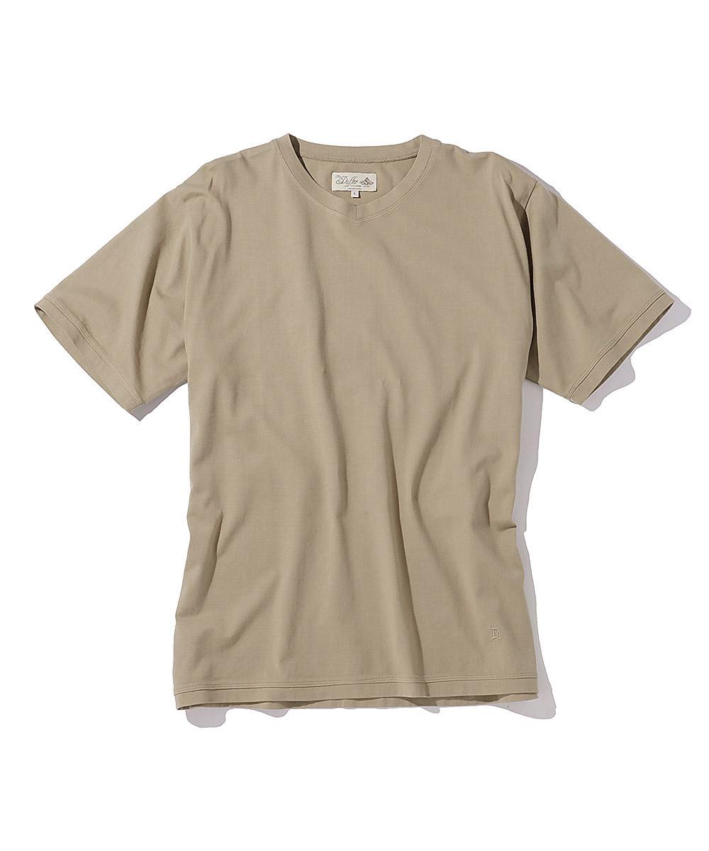 ASUTEX(R)VネックTシャツ
