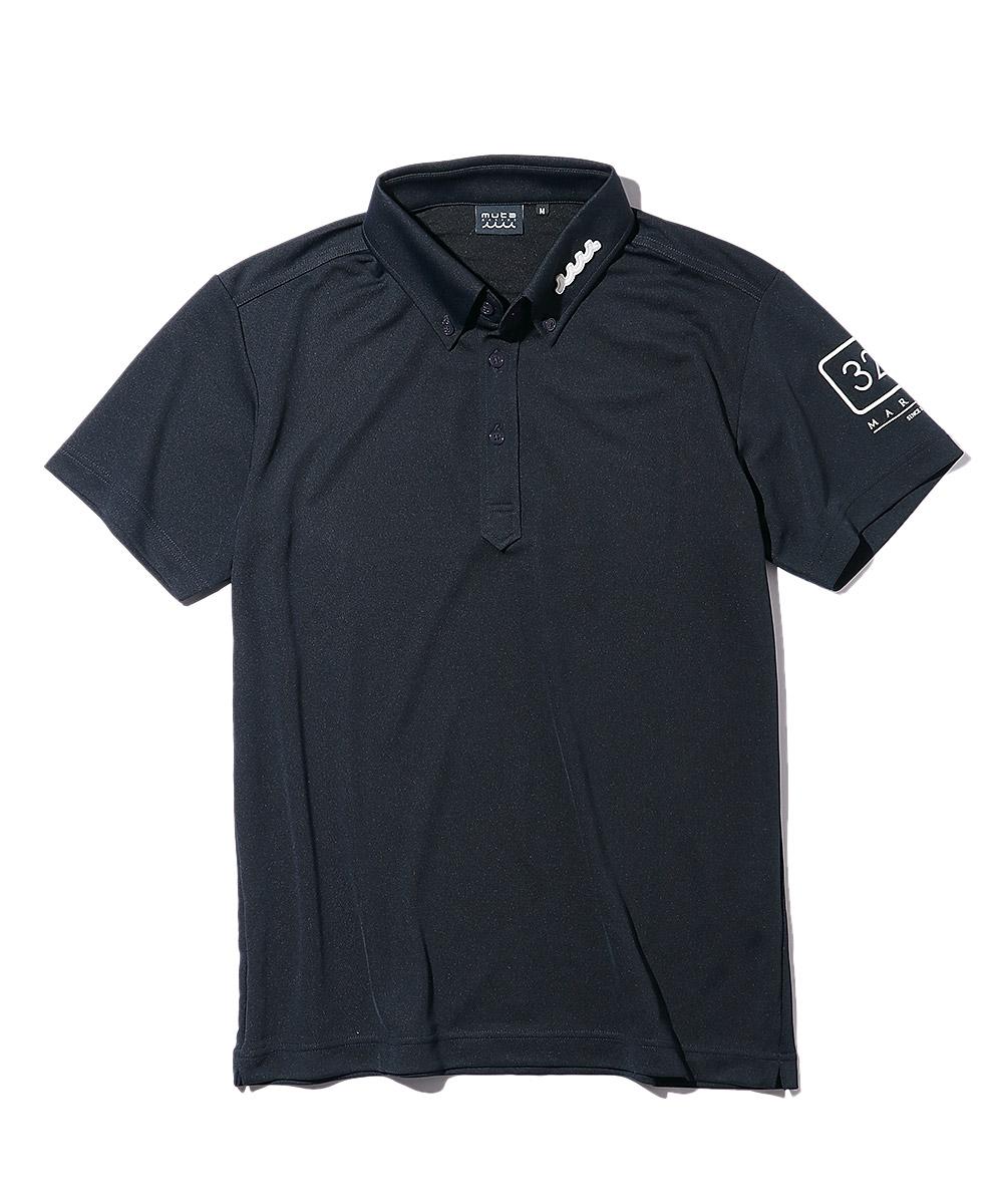 サイドサークルロゴポロシャツ