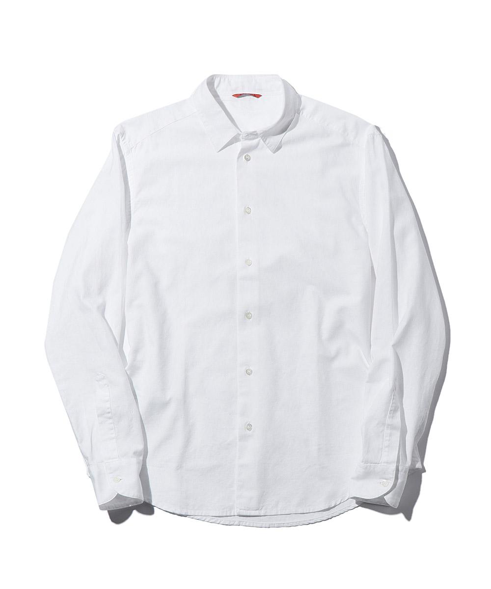 プレーンコットンシャツ
