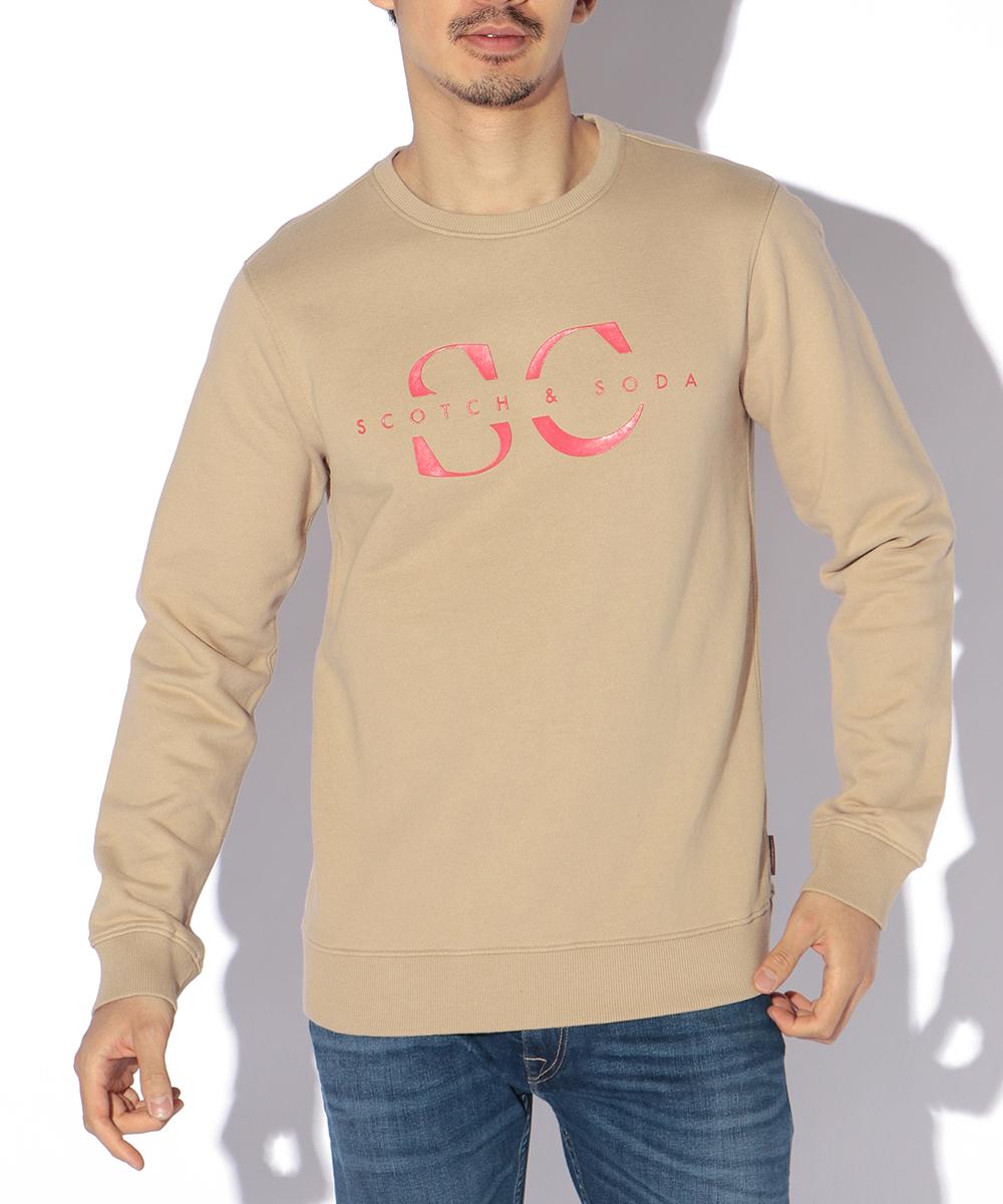 ロゴプリントスウェットシャツ
