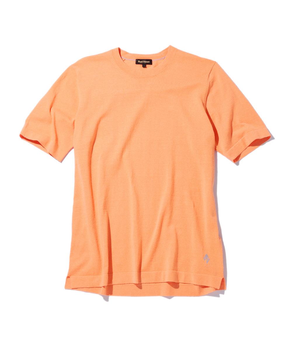 トラベラーリネンクルーネックTシャツ