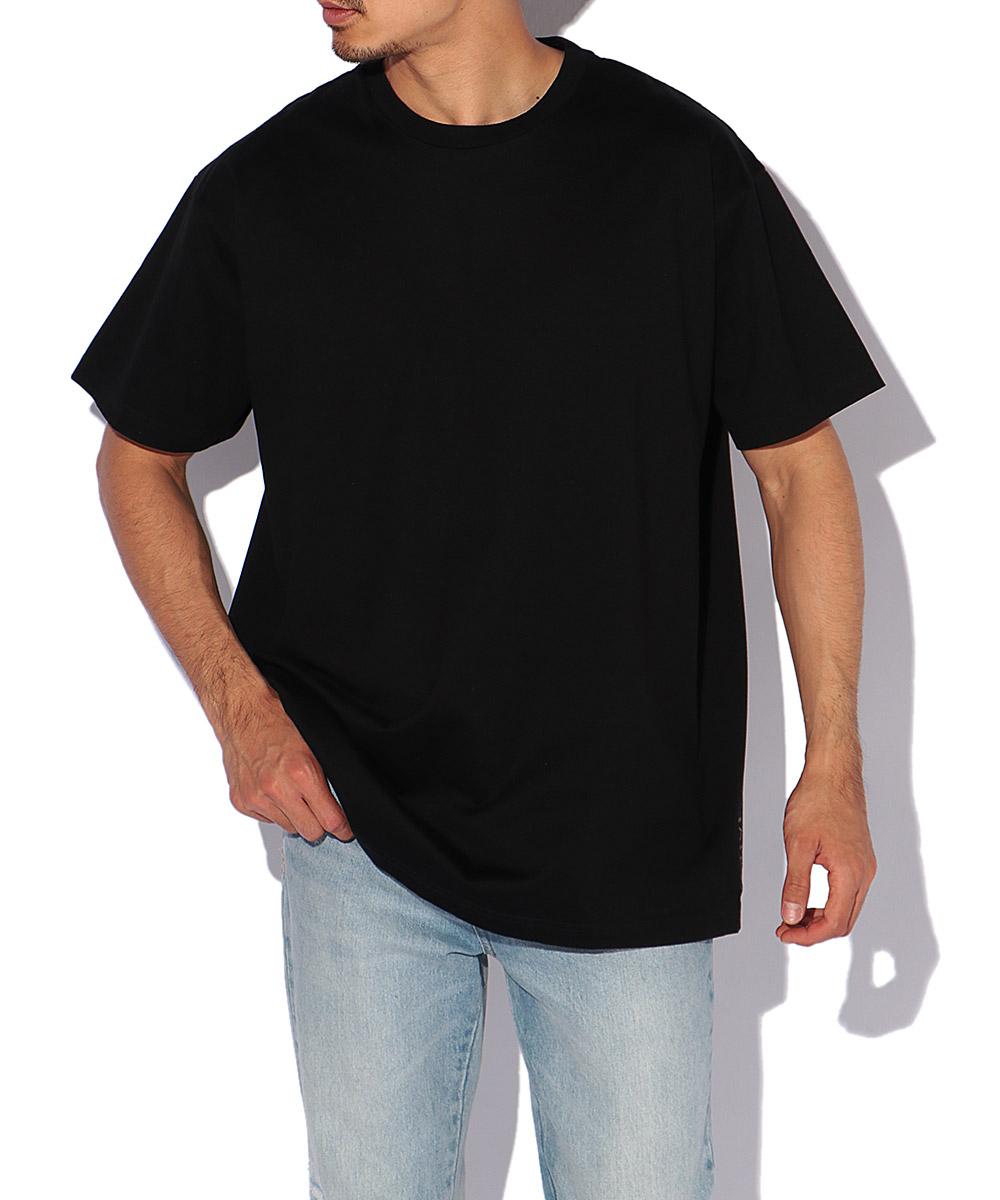 コットンクルーネックTシャツ