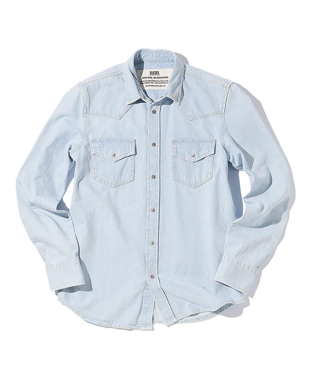 デニムウェスタンシャツ