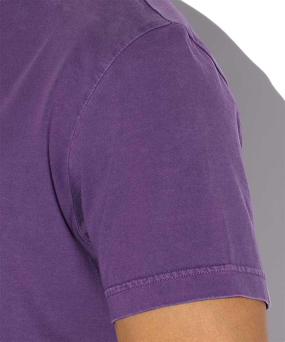 ワンポイントロゴクルーネックTシャツ