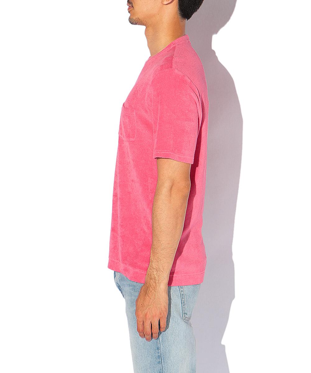【限定商品】パイルポケットクルーネックTシャツ