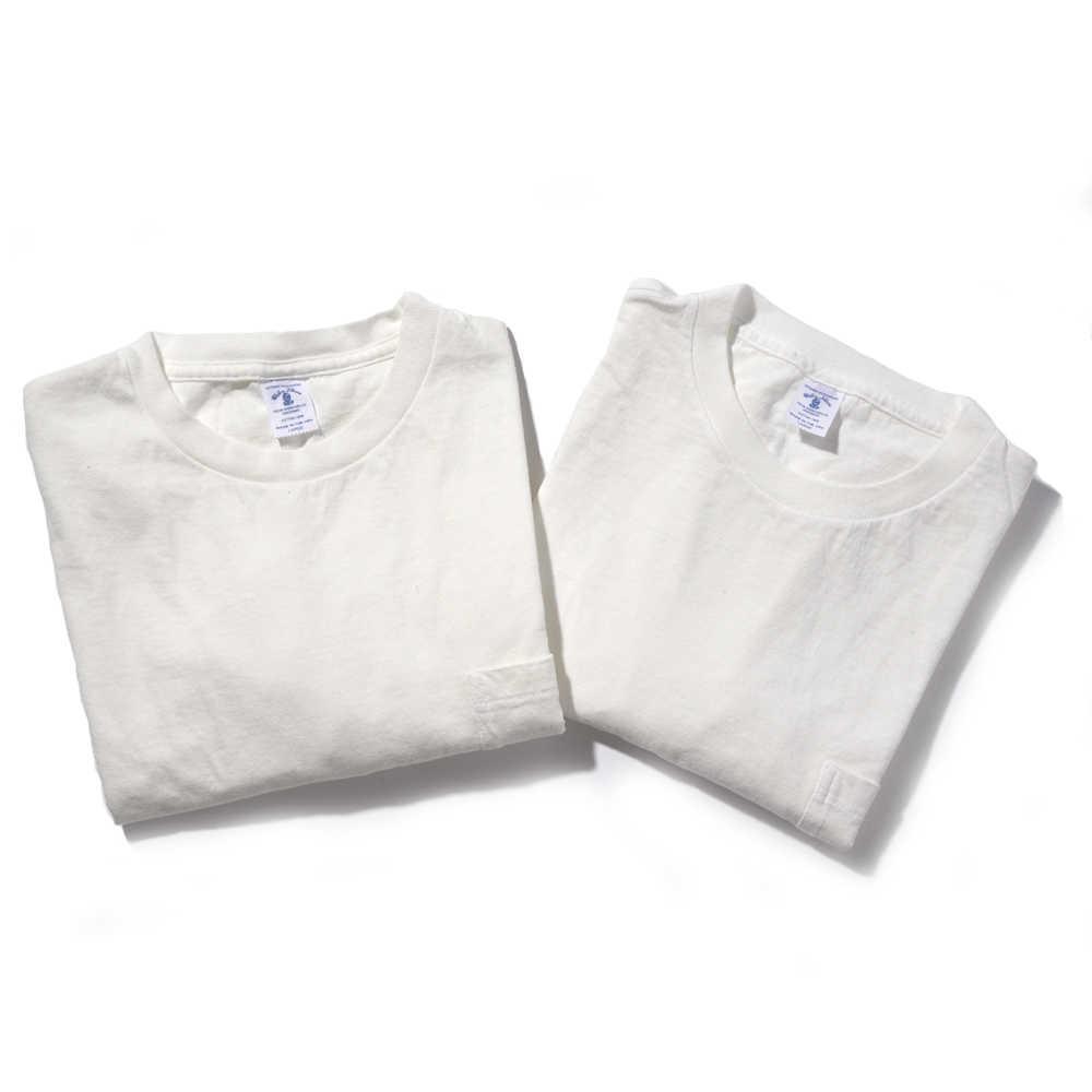 2パック クルーネックポケットTシャツ