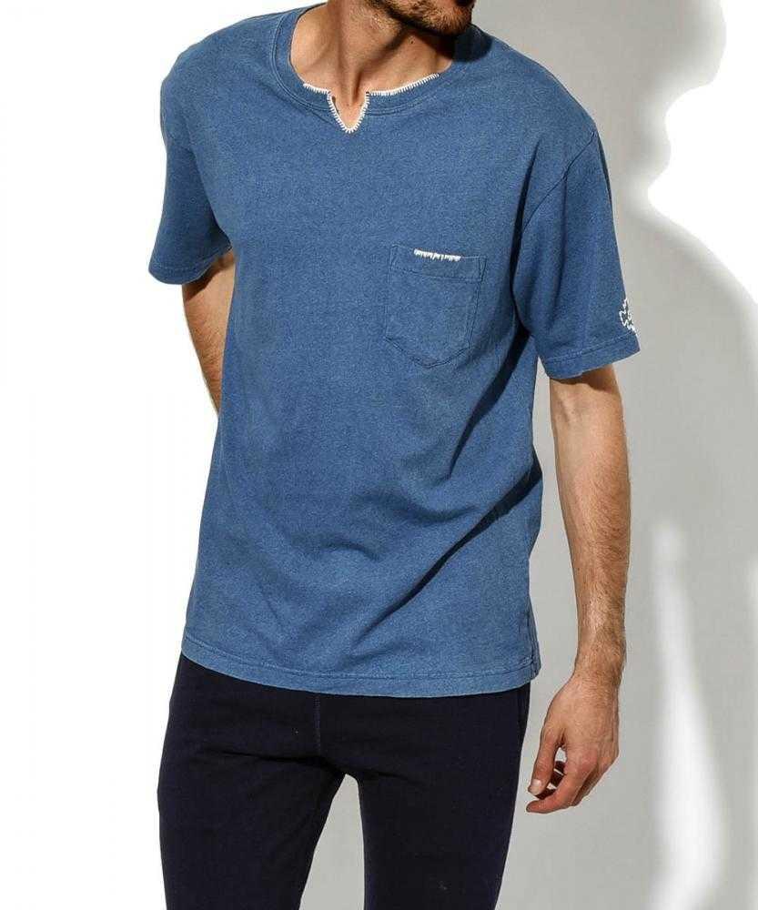 【別注・限定販売商品】リメイクヘンリーネックTシャツ