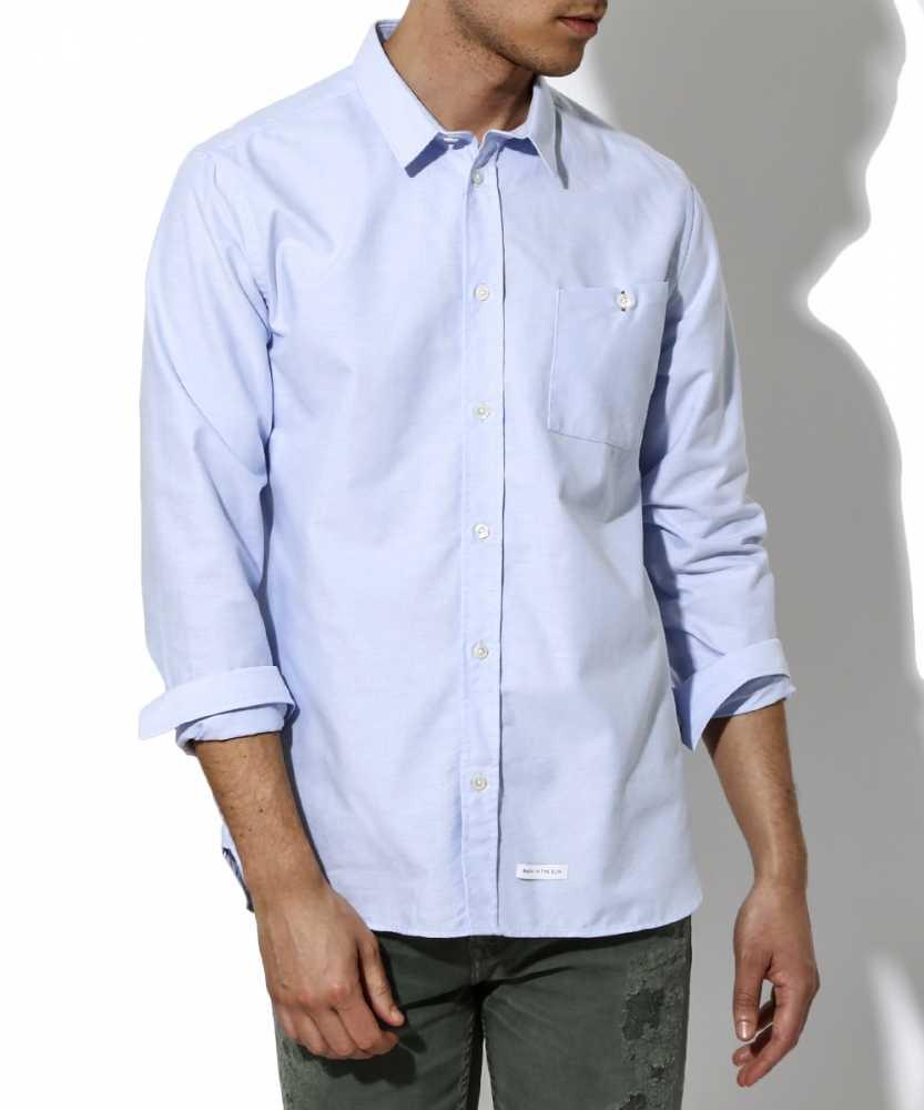シャツ ライトブルー