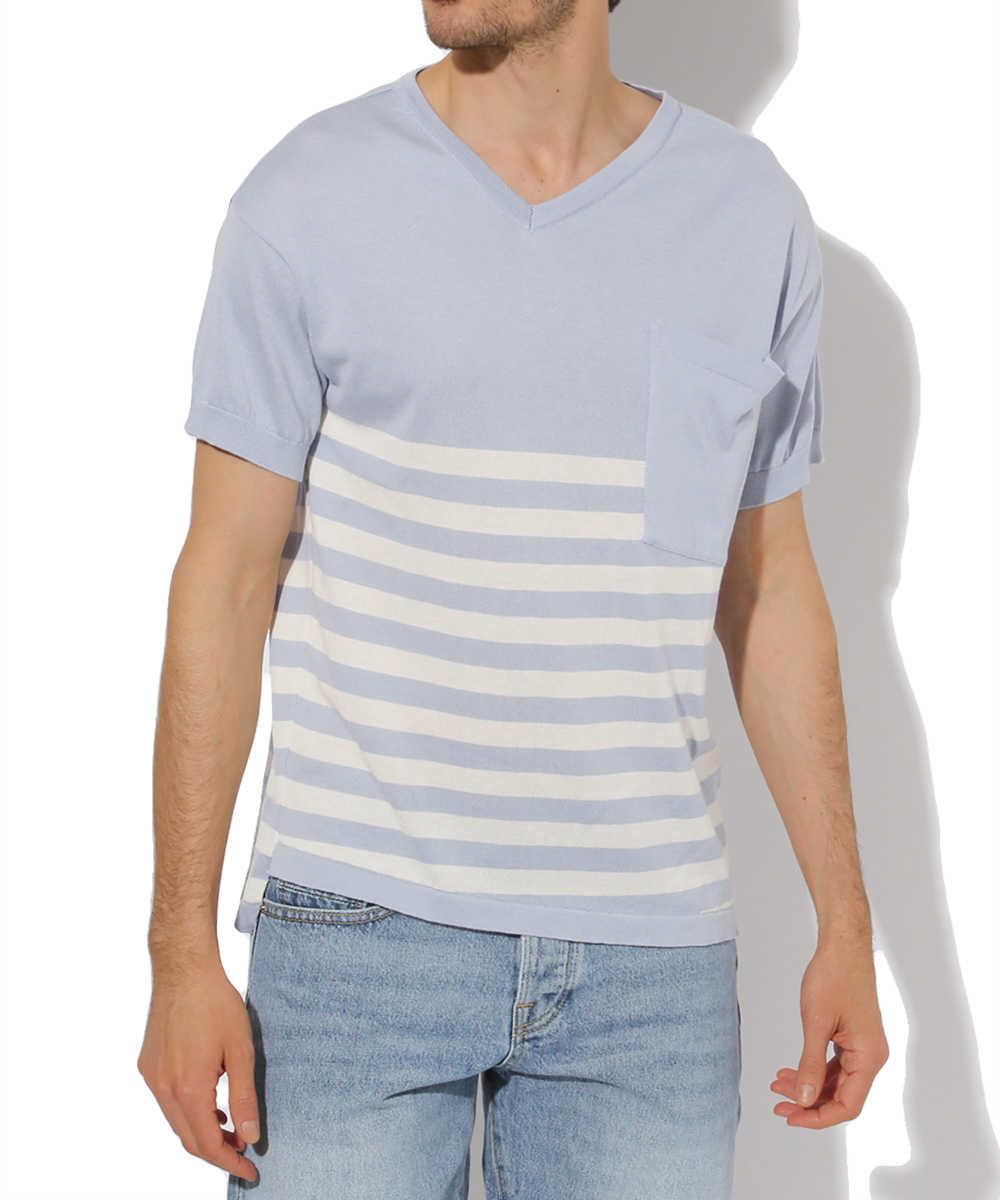 """""""ディーン""""ニットTシャツ"""