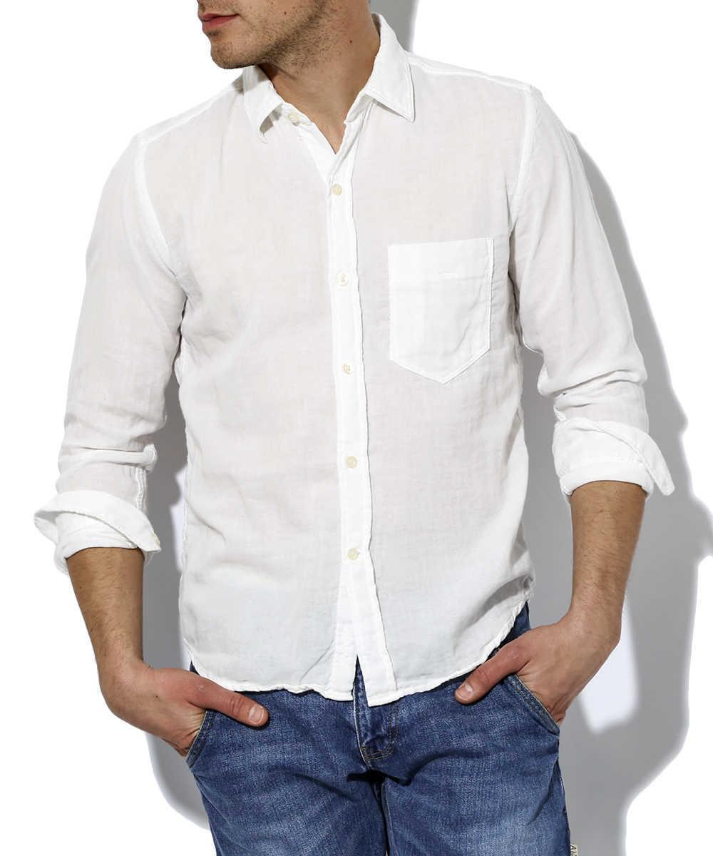 ダブルガーゼ スタンダードシャツ