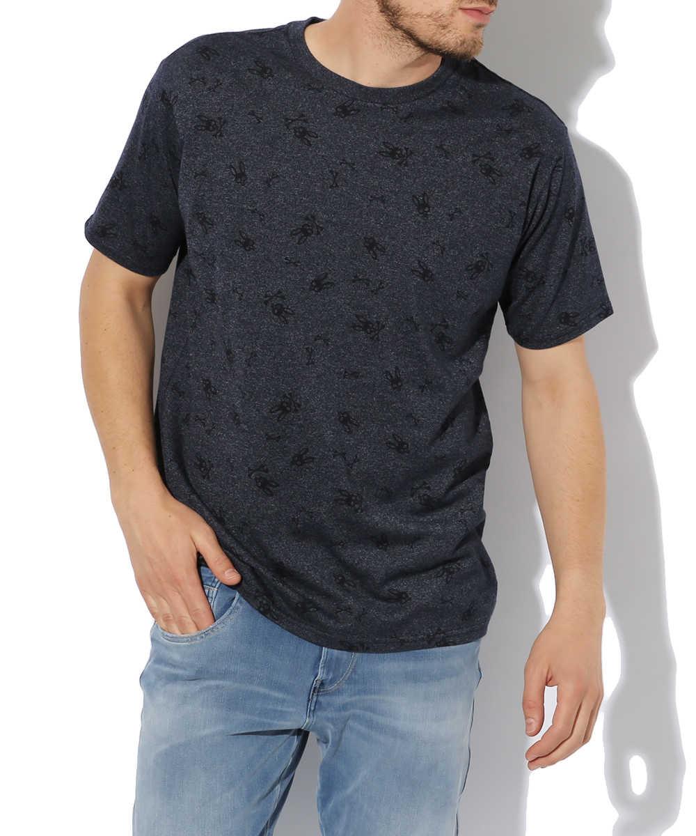 オールオーバープリント トーナルTシャツ