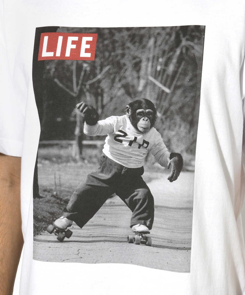 【別注・限定販売商品】クルーネックフォトプリントTシャツ