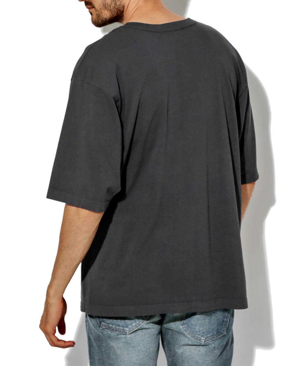 ビッグクルーネックTシャツ