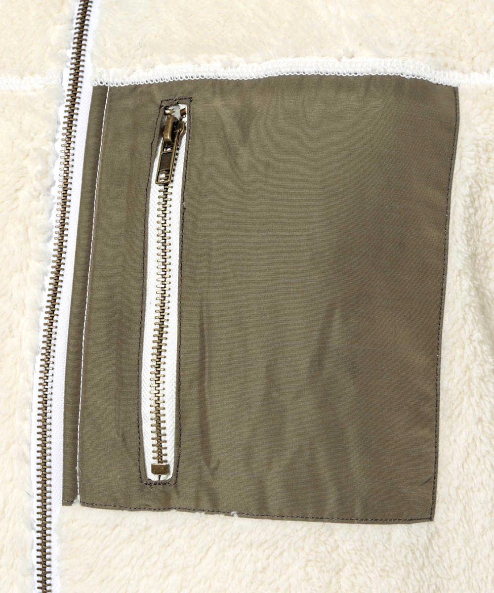 【別注・限定販売商品】ソフトボアフリースジャケット
