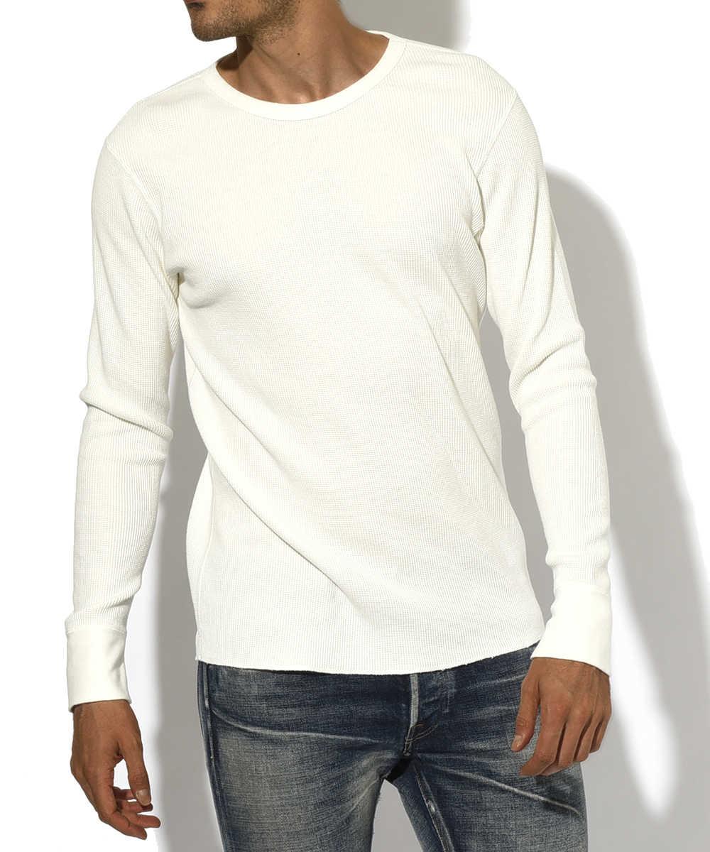 ロングスリーブサーマルクルーネックTシャツ