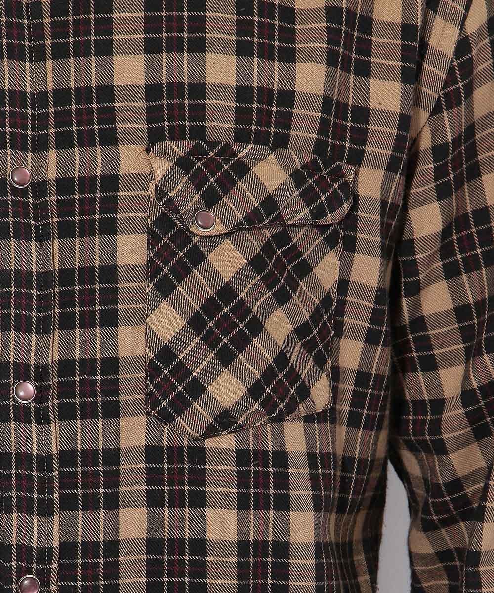 ウエスタンチェックシャツ