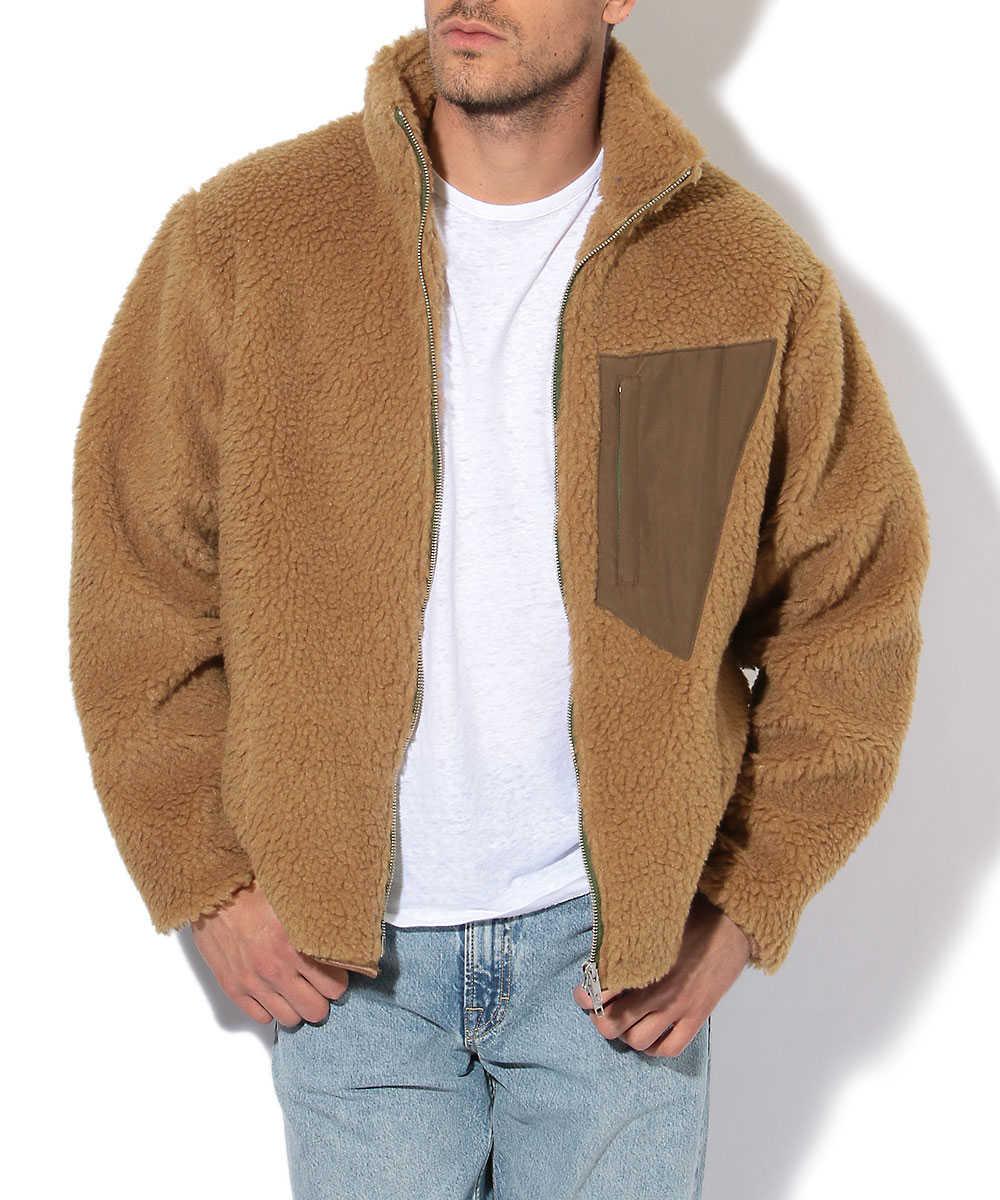 ボアフリースジャケット