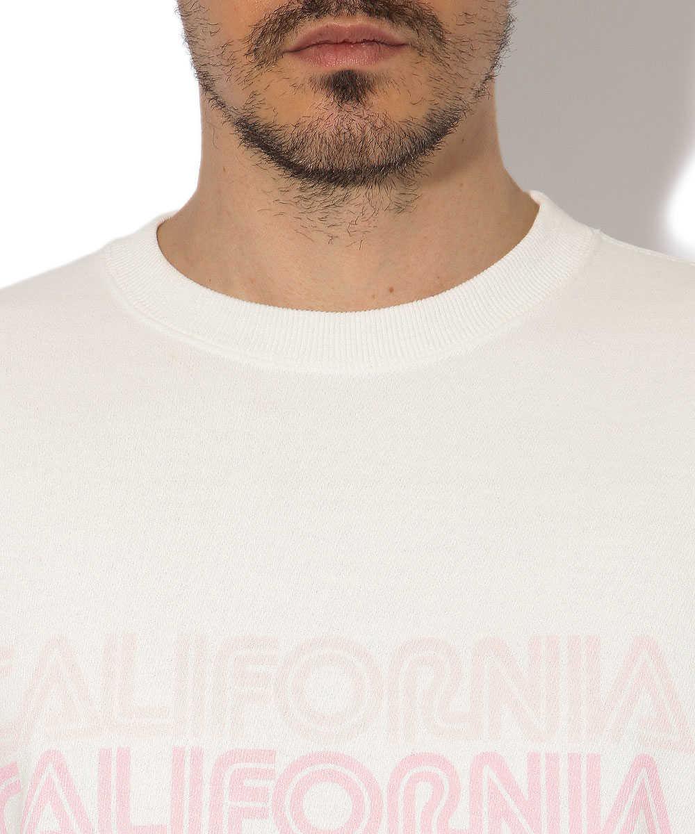 """【別注・限定商品】""""カリフォルニア""""クルーネックスウェットシャツ"""