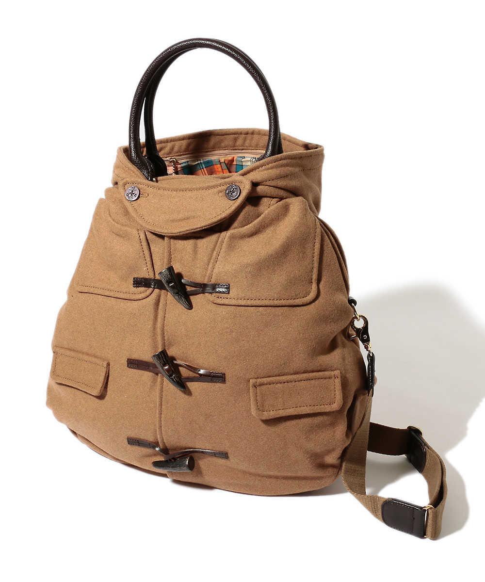 ダッフルコートバッグ Lサイズ