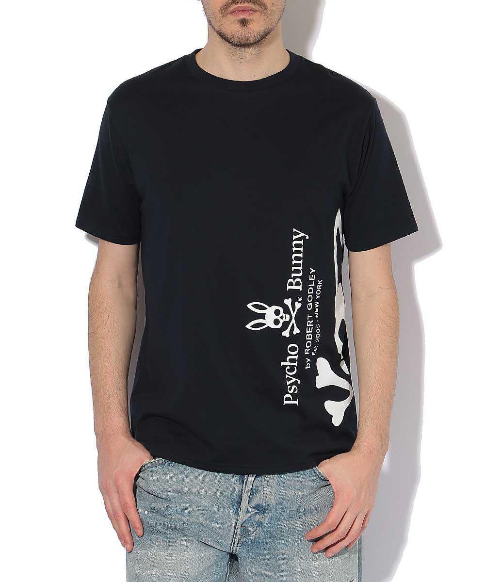 クルーネックビッグロゴプリントTシャツ