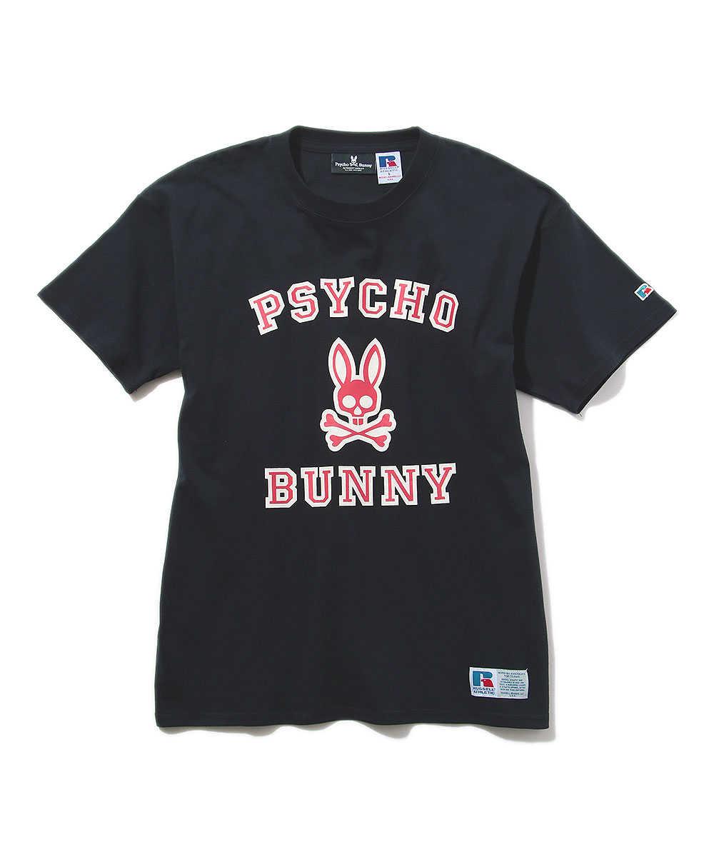 【先行販売商品】サイコバニー×ラッセル コラボクルーネックTシャツ