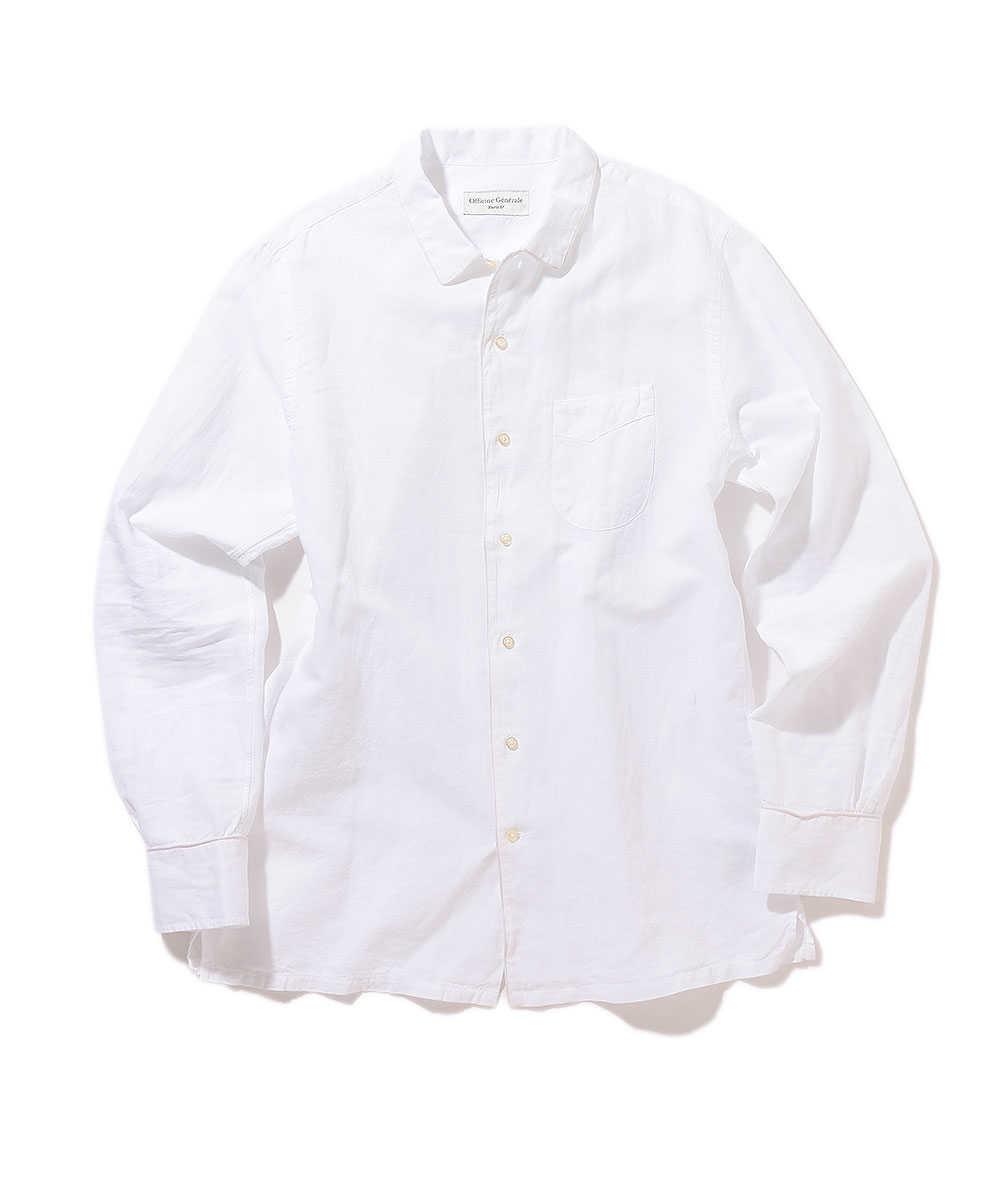 パイピングシャツ