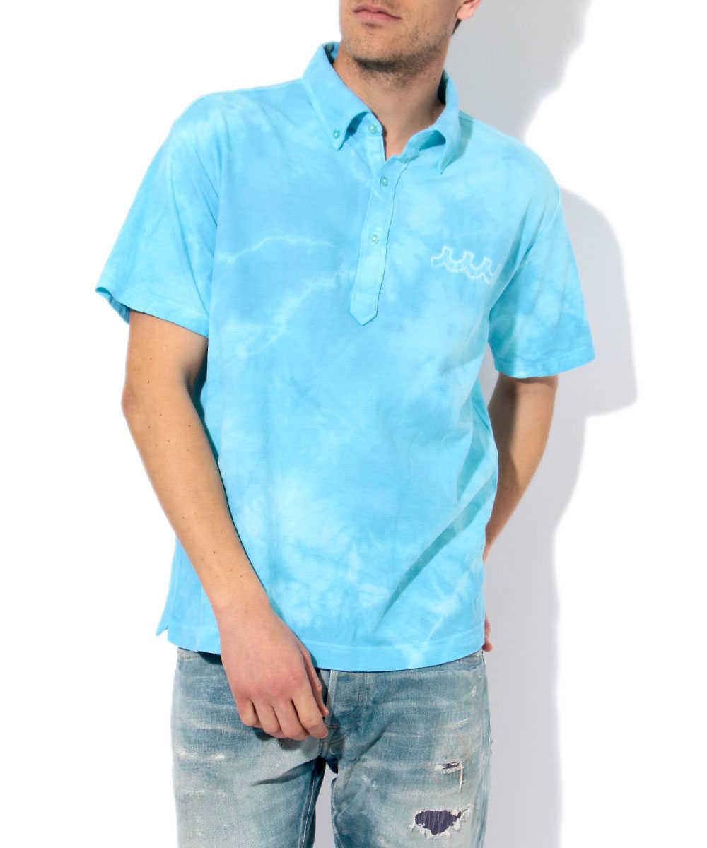タイダイポロシャツ