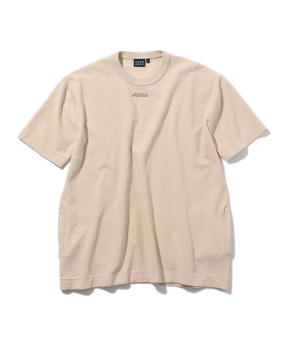 パイルオーバーサイズTシャツ