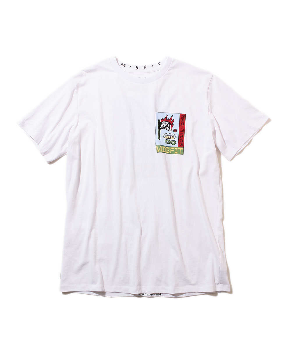 """""""ピュアハーム""""クルーネックTシャツ"""