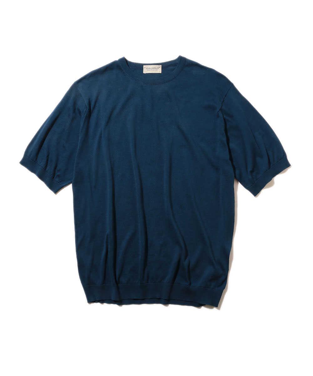 リブニットTシャツ
