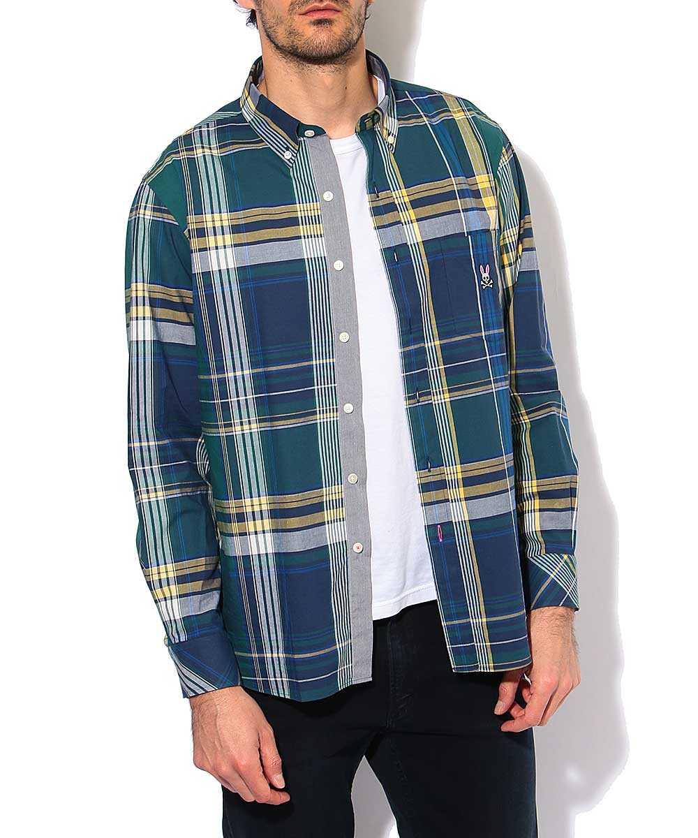 ビッグマドラス チェックシャツ