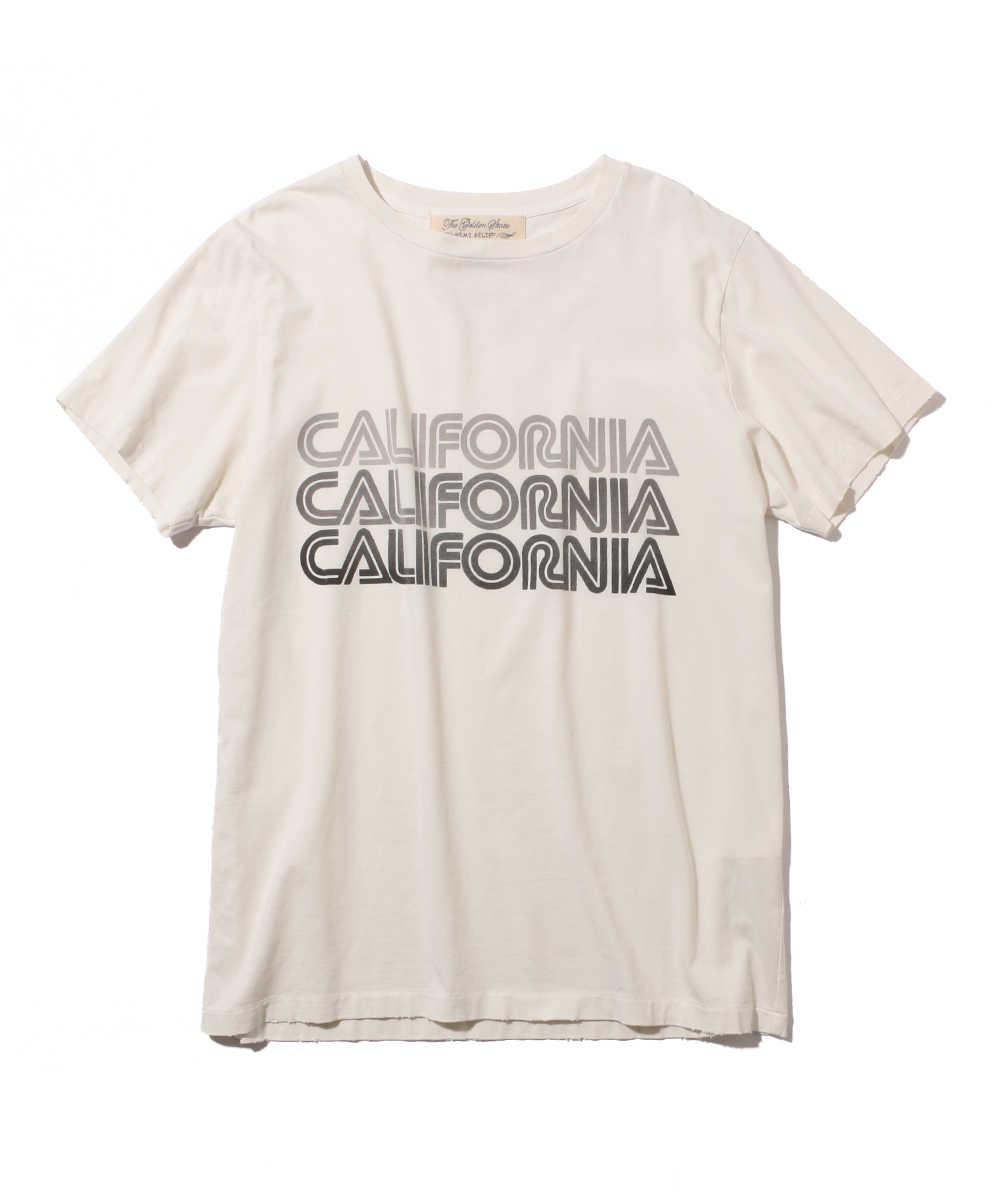 """【別注・限定商品】""""カリフォルニア""""クルーネックロゴTシャツ"""