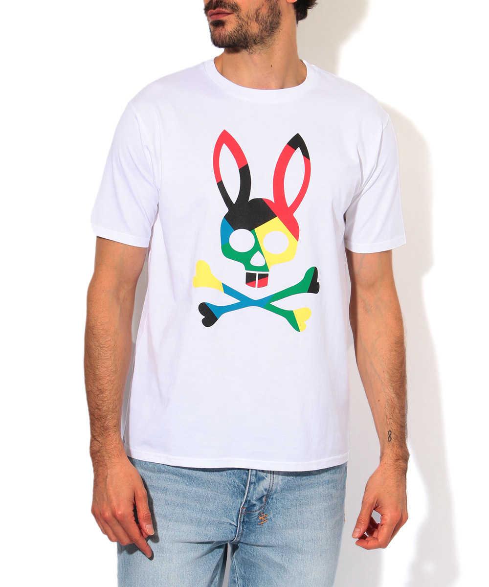 ビッグマルチバニークルーネックTシャツ