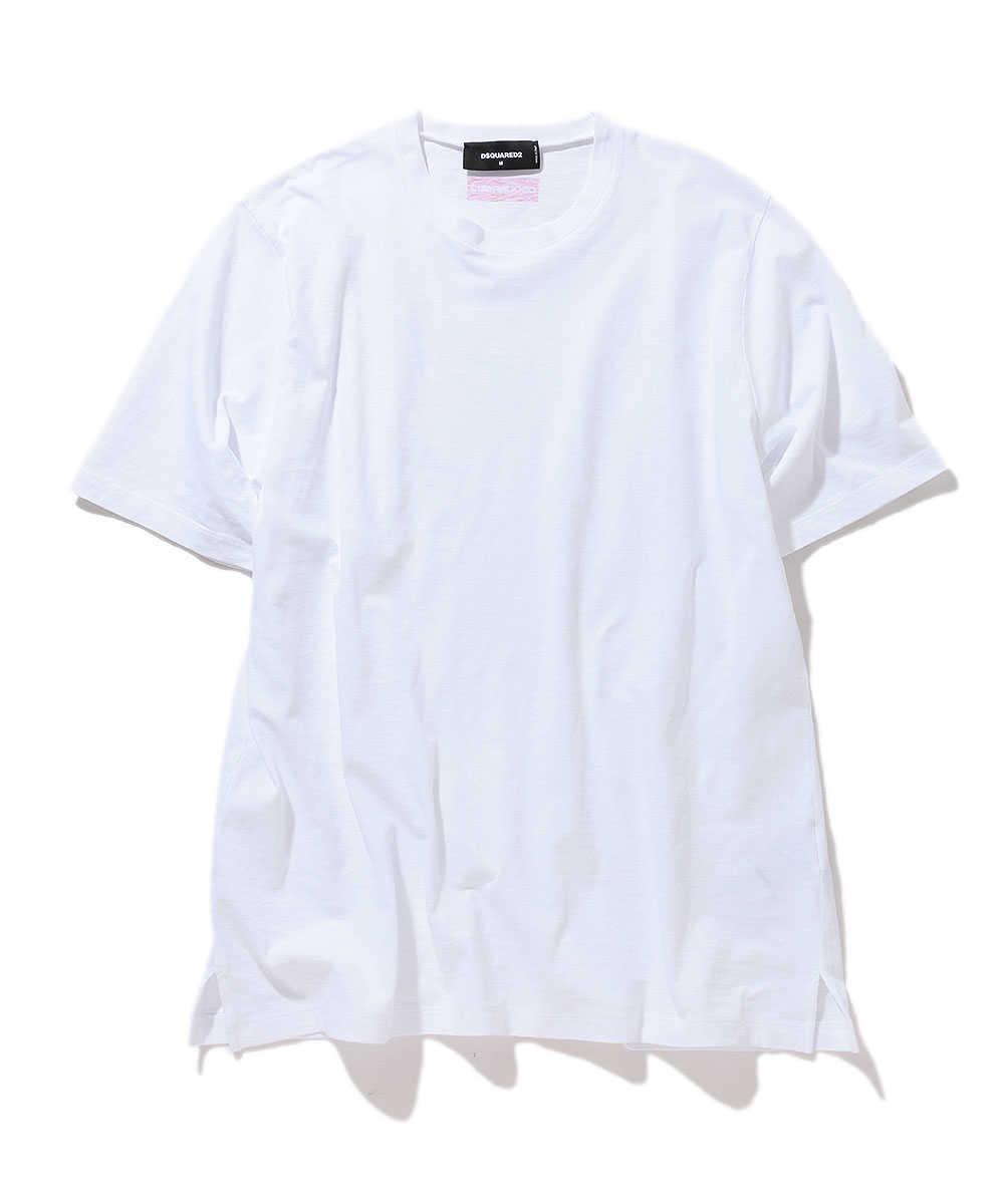 ディースクエアード×ペプシ  クルーネックTシャツ
