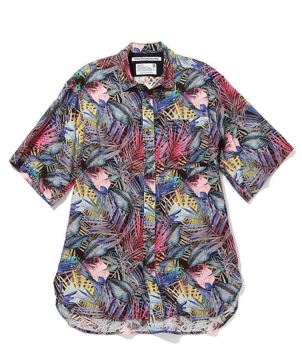 ボタニカルリネンシャツ